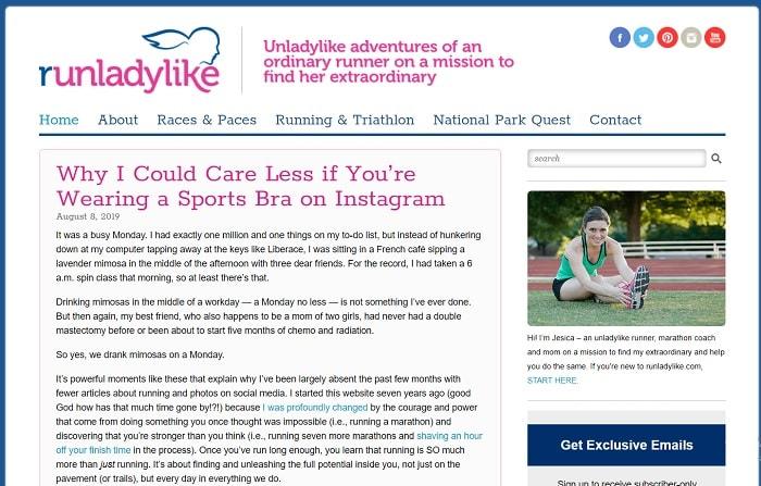 dr nicks running blog | running forum | lazy girl running