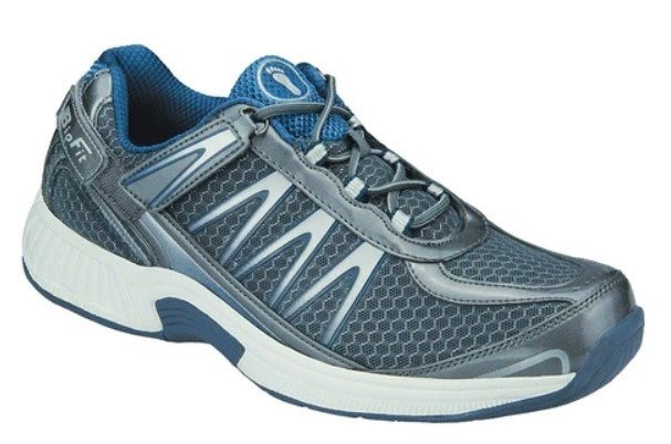 walking shoes for overponation | Orthofeet's Sprint Tie-Less shoes
