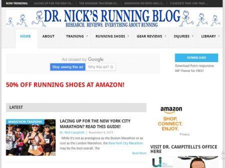 how to start a running blog | sports shoes blog | dr nicks running blog