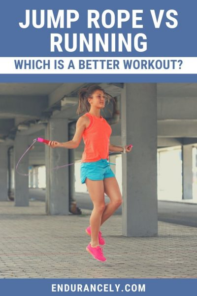 jump rope vs running | benefits of jump rope vs running | difference between running and jumping rope