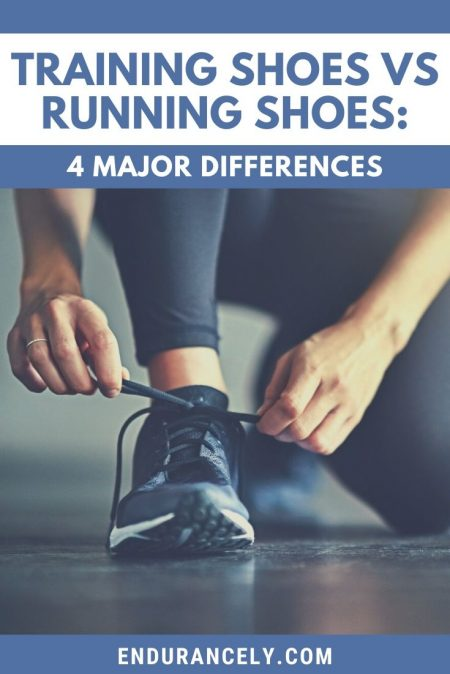 training shoes vs running shoes | can you run in a training shoe | difference between a running shoe and a training shoe