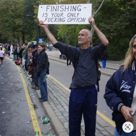 funny marathon signs 2017   jogging puns   things to tell runners