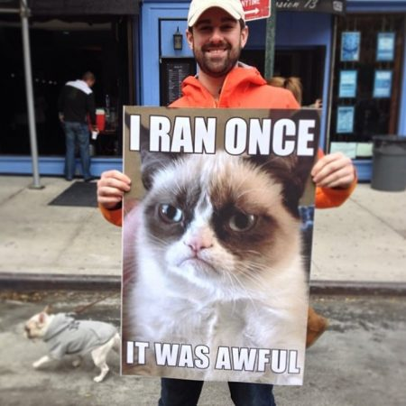 funny signs for half marathon runners | funny spectator signs for marathon | things to tell runners