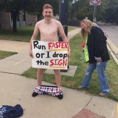 funny marathon signs reddit | short running puns | marathon poster design